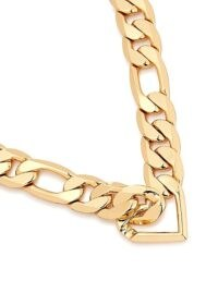 JENNY BIRD Vera 14kt gold-dipped chain necklace / chunky necklaces / statement chains