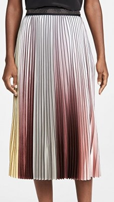 Le Superbe The Whiskey Skirt | pleated ombre skirts