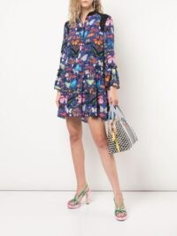Mary Katrantzou Shalini butterfly print dress ~ butterflies ~ insect prints