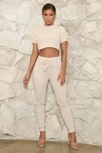 MESHKI AISHA Chenille Leggings ~ casual fitted lounge fashion ~ loungewear