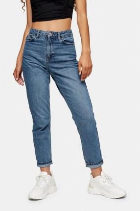 Topshop Mid Blue 2 Million Mom Jeans