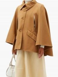 MAX MARA Noli cape ~ camel capes