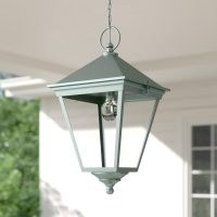 Hugh 1 Light Outdoor Hanging Lantern by Ophelia & Co. – simple, subtle hanging lantern