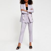 RIVER ISLAND Purple double breasted blazer ~ blazers ~ jackets
