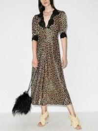 Rixo Simone lace trim floral dress – vintage style dresses