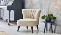 Darlings of Chelsea SAXTON CHAIR ~ elegant single chairs