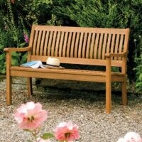 Mayela Wooden Bench by Sol 72 Outdoor – basic is best