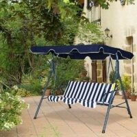 Wimbish Swing Seat by Sol 72 Outdoor – put your feet up and relax in your garden