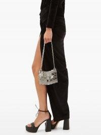 GIANVITO ROSSI Sydney 70 leather platform sandals in black – ankle tie block heels – 70s style platforms – glamorous vintage look