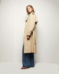 NILI LOTAN TANNER TRENCH COAT | belted coats for autumn