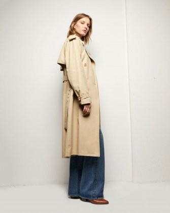 NILI LOTAN TANNER TRENCH COAT | belted coats for autumn - flipped