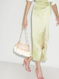 Vanina Palais Royal shoulder bag / pearl and tassel embellished bags