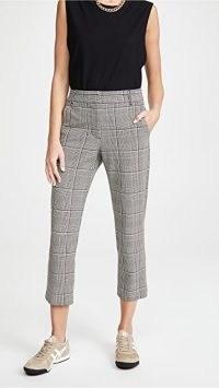 Velvet Abigail Pants / crop leg trousers