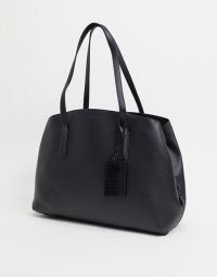 ALDO Ramada structured tote in black | faux leather handbags