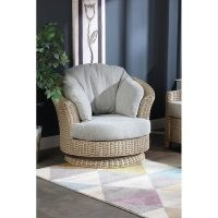 Lomond Swivel Armchair by Beachcrest Home – make your conservatory comfy