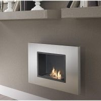 Anais Wall Mounted Ethanol Fire by Belfry Heating – don't get cold by snuggling up in front of a fabulously stylish fire