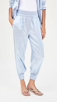 Cinq a Sept Kailey Pants / luxe joggers / luxury jogger style trousers