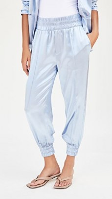 Cinq a Sept Kailey Pants / luxe joggers / luxury jogger style trousers - flipped