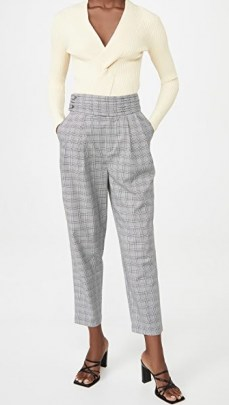 Cinq a Sept Serenity Pants / houndstooth trousers - flipped