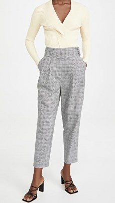 Cinq a Sept Serenity Pants / houndstooth trousers