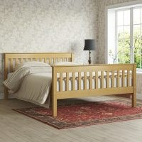Hearthstone Bed Frame by ClassicLiving – solid wood
