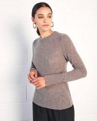 JIGSAW CLOUD CASHMERE CREW NECK / classic knitwear / autumn winter jumpers