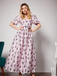 sister jane First Dance Maxi Dress ~ pink floral dresses