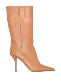 Gia Couture x Pernille Teisbaek Perni 06 85mm boots | luxe calf length boots