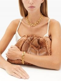 SOPHIE BUHAI 18kt gold-vermeil rope-chain necklace | chunky statement jewellery