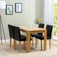 Boville Dining Set with 4 Chairs by Marlow Home Co. – style out your home