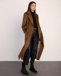 JIGSAW MAXI CITY COAT / classic double breasted coats