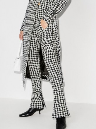 Off-White psychedelic houndstooth-print trousers