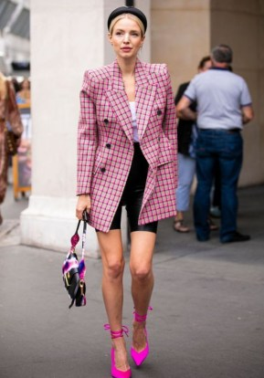 Pink street style outfits