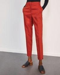 JIGSAW PORTOFINO TROUSER / slim fit crop leg trousers