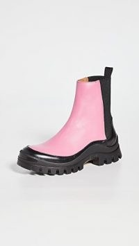 Rejina Pyo Mira 30mm Boots leather pink