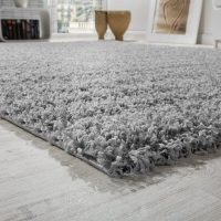 Epperson Flatweave Light Grey Rug by Rosdorf Park – comfy under foot