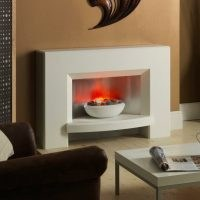 Windleston Electric Fireplace by Suncrest – stylish electric heating