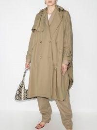 Stella McCartney Alexa trench-style cape | stylish loose fit coats