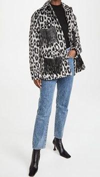 The Andamane Evita Jacket with Fringes / fringe detail jackets
