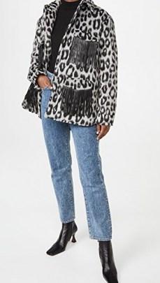 The Andamane Evita Jacket with Fringes / fringe detail jackets - flipped