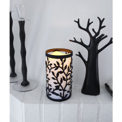 Flameless Candle by The Party Aisle – love the silhouette design - flipped