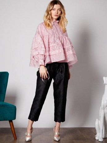 sister jane Ballroom Smock Blouse in cotton candy