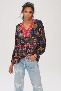 Dolan Left Coast Lora Tunic ~ floral tunics