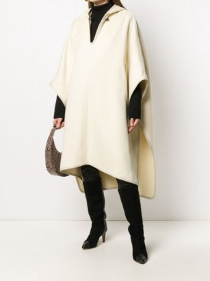 Isabel Marant oversize hooded cape | winter capes