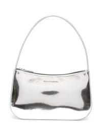 Kwaidan Editions metallic top-handle bag – silver tone handbags