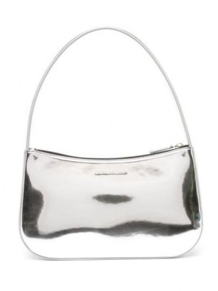Kwaidan Editions metallic top-handle bag – silver tone handbags - flipped
