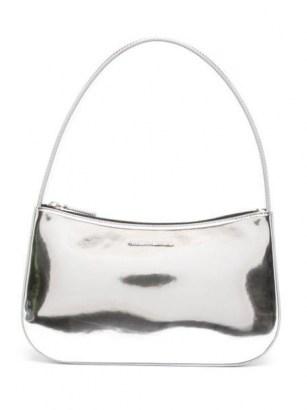 Kwaidan Editions metallic top-handle bag – silver tone handbags