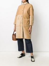 Marni reversible contrast panel coat ~ chic winter coats