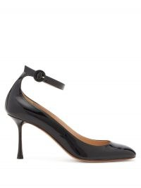 FRANCESCO RUSSO Mary Jane patent-leather pumps