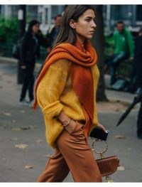 Outfits created with tonal colours / great street style looks